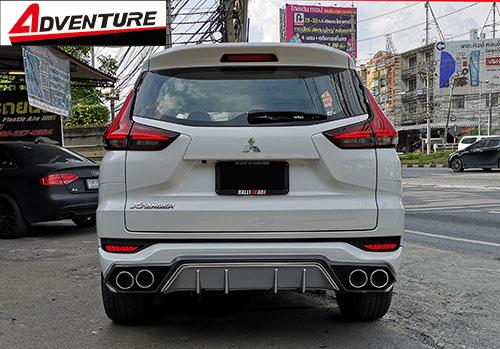 ชุดแต่ง Mitsubishi Xpander เอ็กซ์แพนเดอร์ 2018 Adventure สเกิร์ตรอบคัน 5