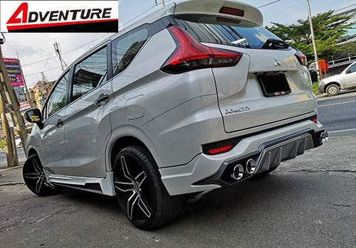 ชุดแต่ง Mitsubishi Xpander เอ็กซ์แพนเดอร์ 2018 Adventure สเกิร์ตรอบคัน 6