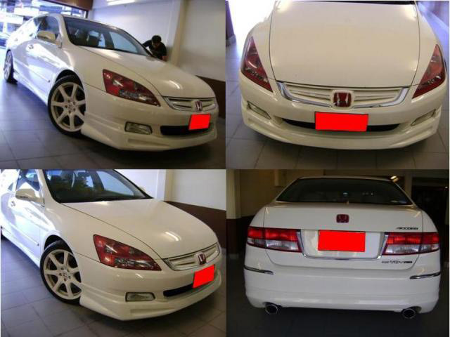 ชุดแต่งสเกิร์ตรอบคัน Honda Accord G7 Mugen แอคคอร์ด 2003 2004 2005