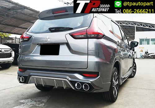 ชุดแต่ง Mitsubishi Xpander เอ็กซ์แพนเดอร์ 2018 Adventure สเกิร์ตรอบคัน 8