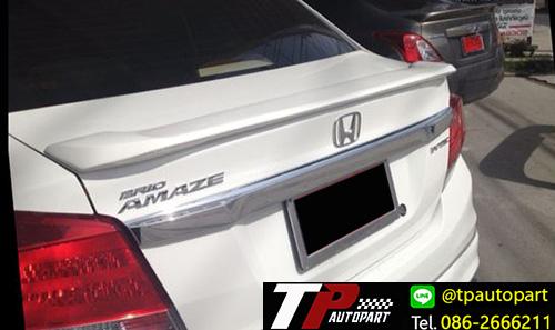 สปอยเลอร์ฝาท้ายบริโอ้ Honda Brio4ประตู Amaze Mugen Sport 2013 2014 2015 2016