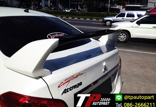 สปอยเลอร์ฝาท้ายแอททราจ Evo RR Mitsubishi Attrage EVO RR