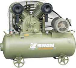 ปั๊มลมสวอน SWAN 2 แรงม้า รุ่น SVP-202-85 (380 V)