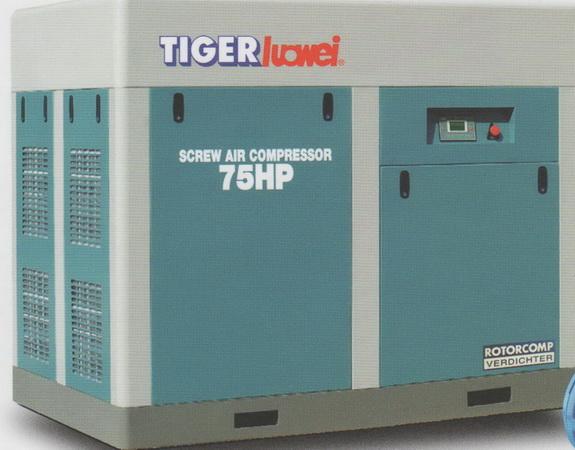 TIGER SCREW COMPRESSOR 10 HP Model TLW-10