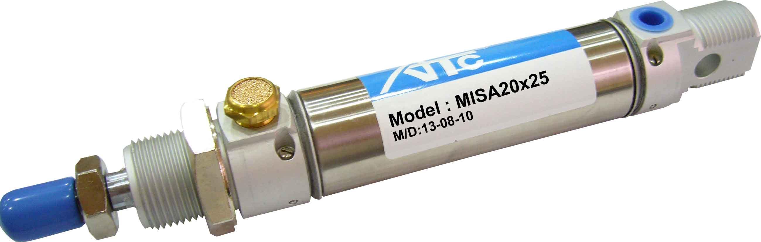 ISO6430 Stainless Steel Slim Cylinder (MISA MITA Series)