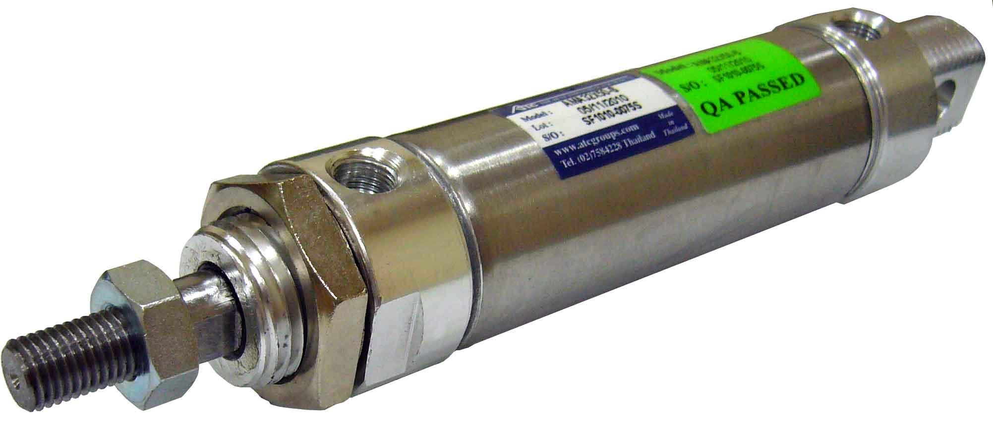 Stainless Steel Slim Cylinder (AMA AMAD AMAJ Series)