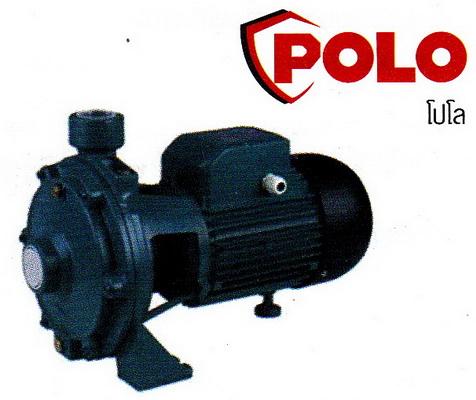 ปั๊มน้ำหอยโข่งใบพัดใบพัดคู่ โปโล POLO รุ่น SCM2-60A