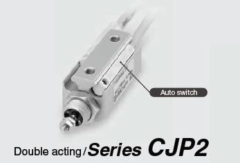 กระบอกลม เอสเอ็มซี SMC Cylinder model CPJ2 Double Action