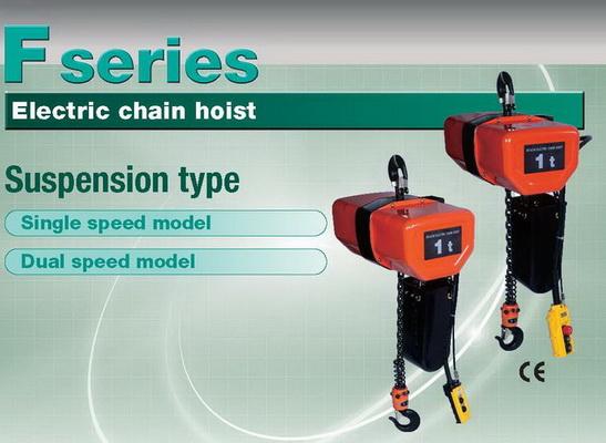 รอกโซ่ไฟฟ้า 4 ทิศทาง HITACHI 1,000 Kg./380 V. Model : 1 SH + 1 ST