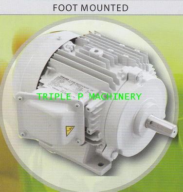 มอเตอร์โตชิบา TOSHIBA แบบขาตั้ง 1500 รอบ 7.5 แรงม้า รุ่น FT4-7.5HP-L,H