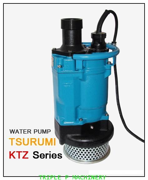 ปั๊มบำบัดน้ำเสีย Tsurumi รุ่น KTZ Series รุ่น KTZ21.5