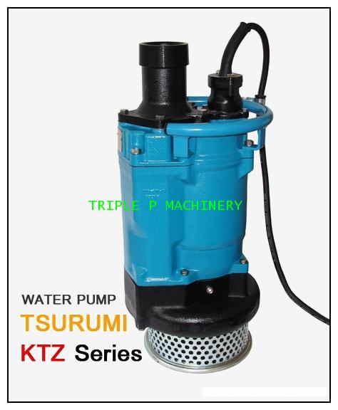 ปั๊มบำบัดน้ำเสีย Tsurumi รุ่น KTZ Series รุ่น KTZ22.2