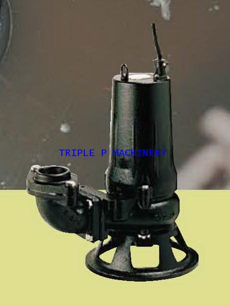 ปั๊มบำบัดน้ำเสีย Tsurumi รุ่น C Series รุ่น 50C2.75+BEND , TOS50C2.75
