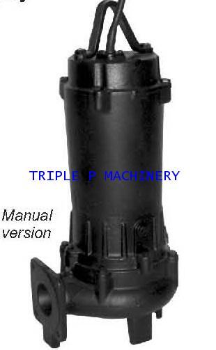 ปั๊มน้ำอีบาร่า EBARA Submersible Pump Model 50DVS5.4S (มีลูกลอย 2 ลูก)