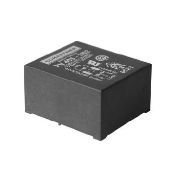 กรองสัญญาณรบกวนบนแผงวงจร Schaffner FN 405 PCB mounting filter