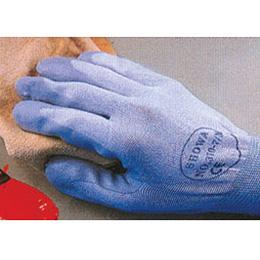 ถุงมือไนลอนเคลือบฝ่ามือด้วยยางไนไตรที่ทนต่อการเสียดสี