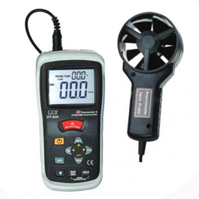 เครื่องวัดความเร็วลมและระบบวัดคุณหภูมิด้วยอินฟราเรด DT620