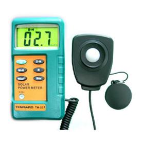 มิเตอร์วัดความเข้มแสง เครื่องวัดแสง Solar Power Meter TM-207