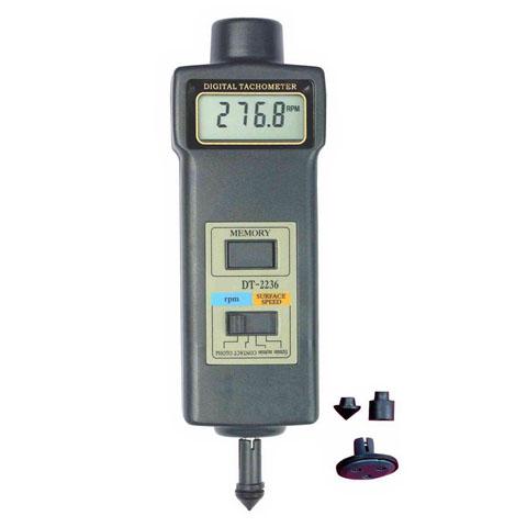เครื่องวัดความเร็วรอบแบบแสง-สัมผัส Tachometer DT-2236