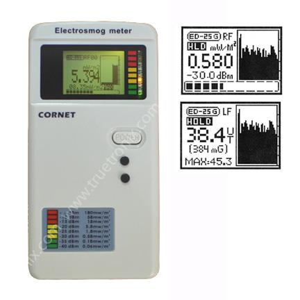 เครื่องวัดคลื่นแม่เหล็กไฟฟ้า 2 ระบบ RF Meter และ Gauss meter
