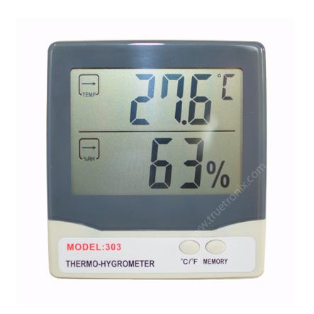 เครื่องวัดอุณหภูมิและความชื้น Thermo-Hygrometer model 303