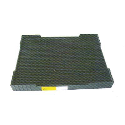 ถาดใส่แผ่น PCB ภาชนะใส่แผ่น PCB กันไฟฟ้าสถิต PCB Rack WT517