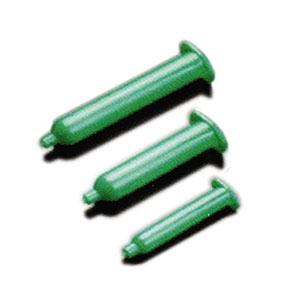 กระบอกฉีดของเหลวสีเขียวกันแสงยูวี UV resistant barrel