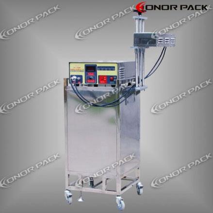 เครื่องซีลฝาขวด Inline Automatic Induction Cap Sealer DG-1500B