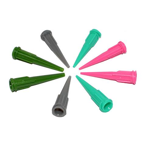 หัวจ่ายกาวพลาสติก หัวจ่ายของเหลวพลาสติก Tapered Plastic