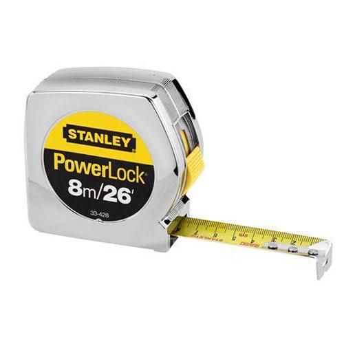 ตลับเมตรยาว 8 เมตร Stanley รุ่น PowerLock