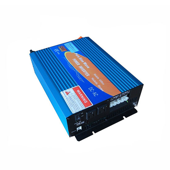 เครื่องแปลงไฟแบตเตอรี่เป็นไฟบ้านขนาด 1500 วัตต์ แบบไฟเรียบ มีระบบชาร์ต