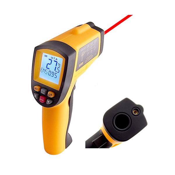 ปืนวัดอุณหภูมิระยะไกลด้วยอินฟราเรด -50 ถึง 700C หรือ -58 ถึง 1292F
