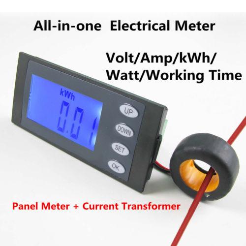 มิเตอร์วัดพลังงานไฟฟ้า กิโลวัตต์มิชั่วโมงมิเตอร์
