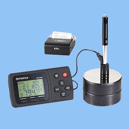 เครื่องทดสอบความแข็งวัสดุพร้อมพรินเตอร์ EPX300 Portable Hardness Tester