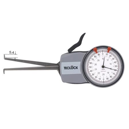 เครื่องวัดความกว้างด้านใน TECLOCK IM-821 Caliper Gage
