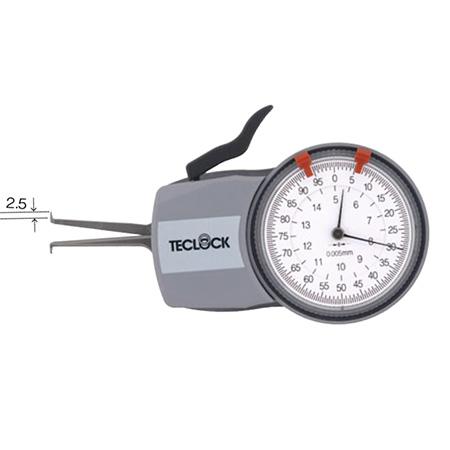 เครื่องวัดความกว้างด้านใน TECLOCK IM-816 Caliper Gage