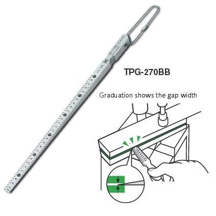 เกจวัดระยะรอยแยก วัดขนาดร่อง Taper Gage 270BB