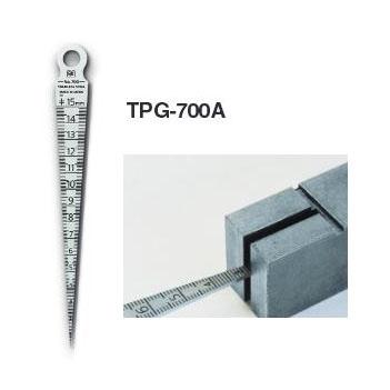 แผ่นเกจวัดขนาดรู วัดรอยแยก รอยแตก Taper Gage 700A