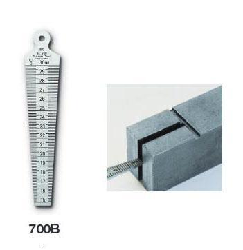 แผ่นเกจวัดระยะห่างชิ้นงาน วัดรอยแยกชิ้นงาน Taper Gage 700B