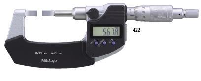 Blade Micrometers 422 INC