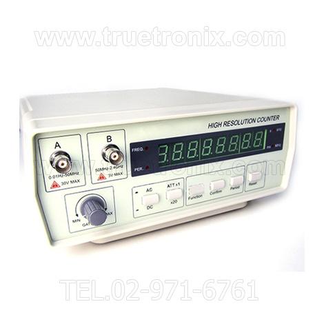 เครื่องวัดความถี่ Precision Frequency Counter 0.01Hz-2.4GHz