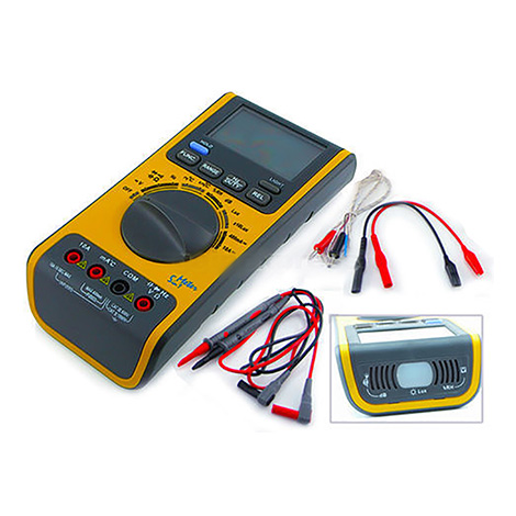 ดิจิตอลมัลติมิเตอร์ 5-in-1 LUX-Light-Meter-dB-Sound-Tester