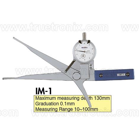 เกจวัดใน TECLOCK IM-1 Internal Dial Caliper Gauge 10-100mm