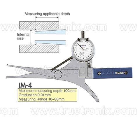 เกจวัดระยะข้างในท่อ TECLOCK IM-4 Internal Dial Caliper Gauge 10-30mm