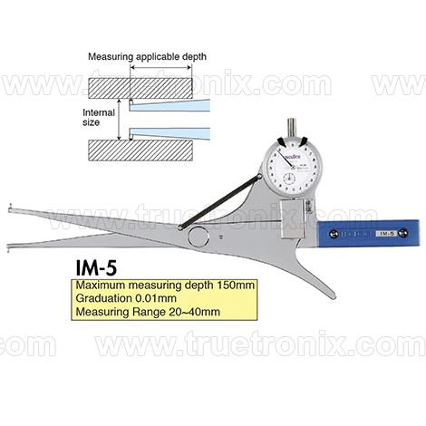เกจวัดระยะภายในท่อ TECLOCK IM-5 Internal Dial Caliper Gauge 20-40