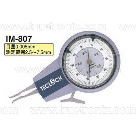 เกจวัดระยะภายในช่อง TECLOCK IM-807 Internal Dial Caliper Gauge 2.5-7.5mm