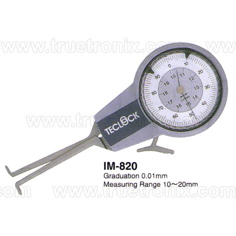 ไดอัลเกจวัดระยะรูใน TECLOCK IM-820 Internal Dial Caliper Gauge 10-20mm