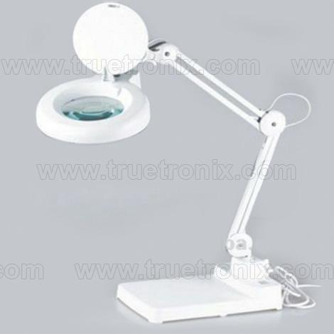โคไฟเลนส์ขยายหลอด LED แบบตั้งโต๊ะ Desktop Magnifying Lamp LED type