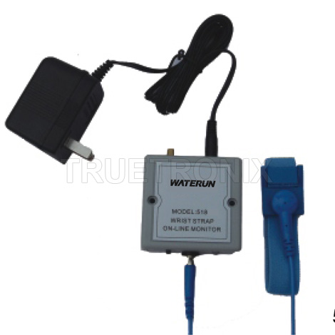 สายรัดข้อมือกันไฟฟ้าสถิต Wrist strap On-Line Monitor 518