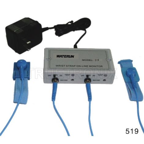 สายรัดข้อมือกันไฟฟ้าสถิต Wrist strap On-Line Monitor 519